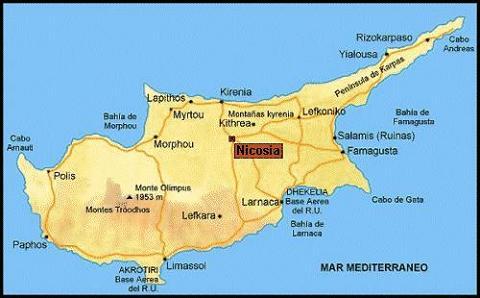 Tamaño Islas Mediterraneo es la Tercera Isla en Tamaño