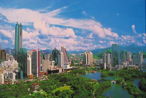 shenzhen lycheepark Las 10 ciudades con más rascacielos del mundo