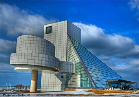 rock and roll hall of fame and museum ohio usa