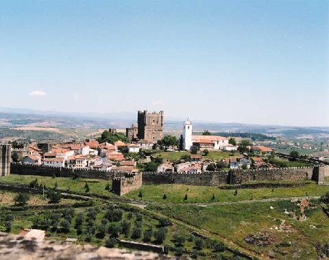 La ciudad portuguesa de Braganza