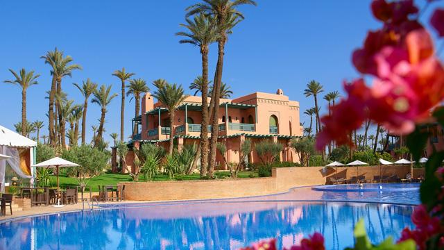 Palmeraie golf palace en marrakech - Hotel cinco estrellas granada ...
