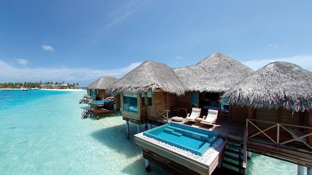 Huvafen fushi en maldivas for Islas maldivas hoteles en el agua
