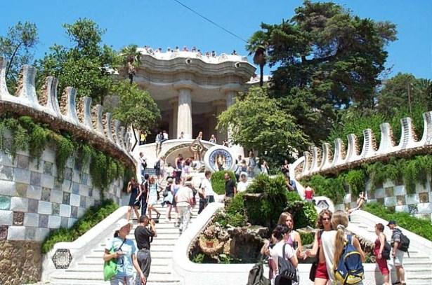 Casa museo de gaud en barcelona for Barcelona jardin gaudi