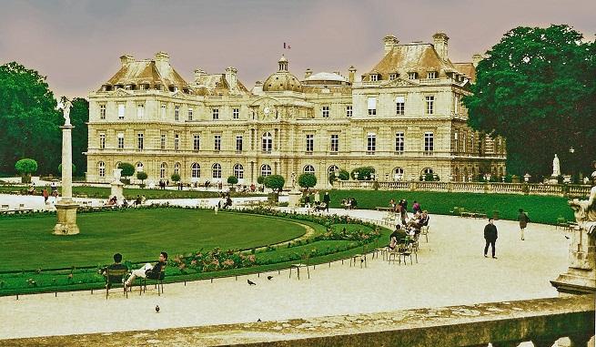 Jard n de luxemburgo en par s for Jardines de luxemburgo paris