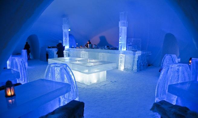 un hotel de hielo en canad taringa