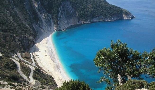 La Playa De Bah 237 A Myrtos En Grecia