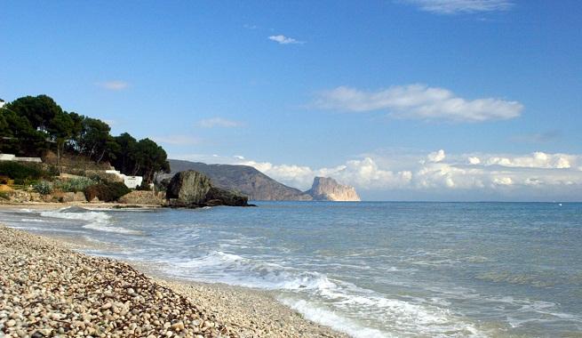 Las mejores playas de altea en alicante - Fotos de hamacas en la playa ...