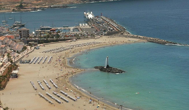 Las mejores playas y calas de tenerife - Jardin caleta tenerife sur ...