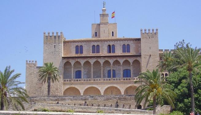 Palacio de la almudaina en palma de mallorca - En palma de mallorca ...