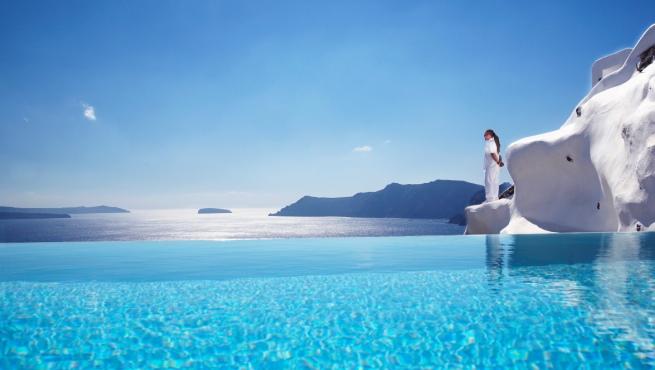 Los hoteles con las piscinas m s espectaculares del mundo for Fotos de piscinas infinity