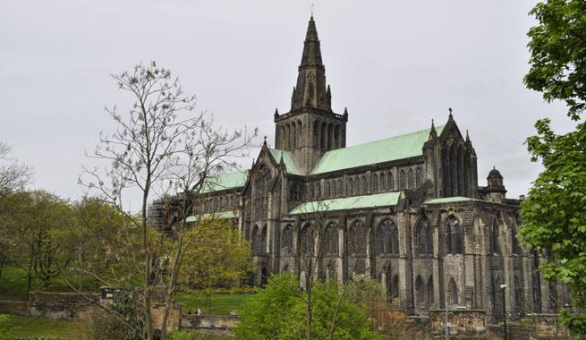 La catedral de glasgow una joya de la arquitectura medieval for Arquitectura medieval