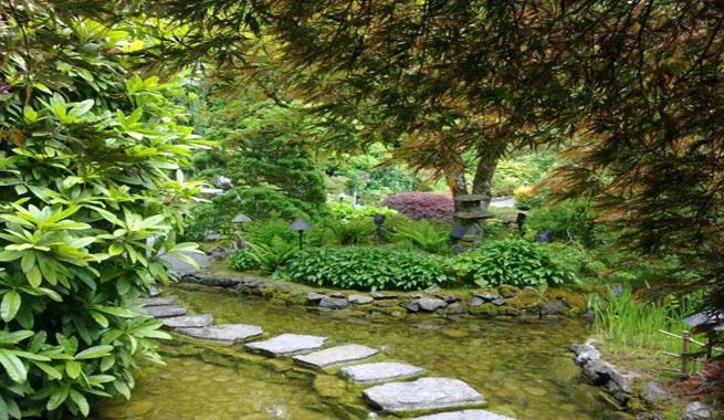 Los jardines butchart en vancouver for Jardines butchart