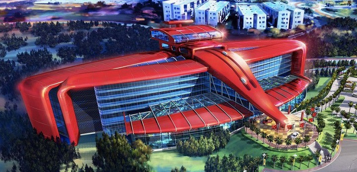 Parque tematico de Ferrari en Port Aventura1