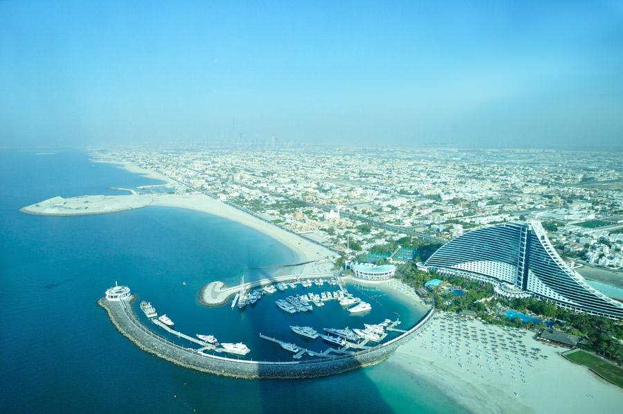 Burj Al Arab Hotel vistas Sky Bar