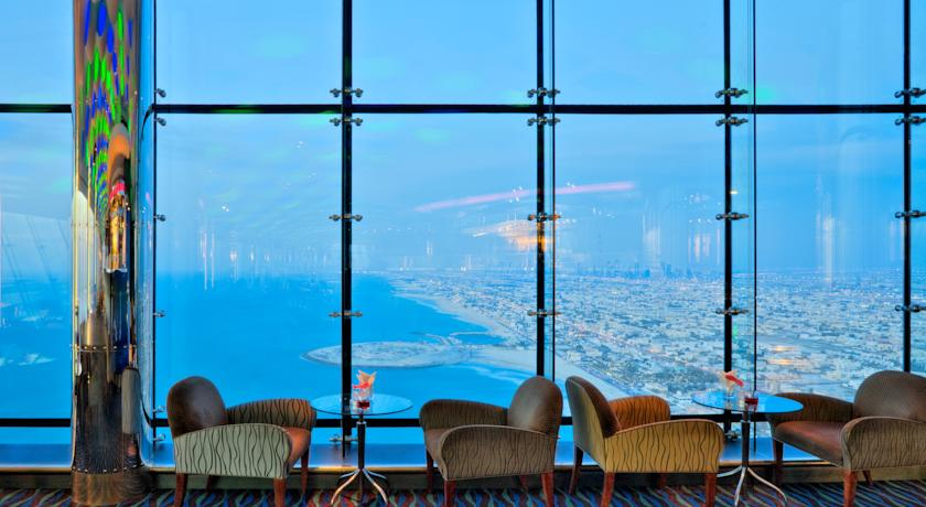 Burj Al Arab Hotel vistas bar