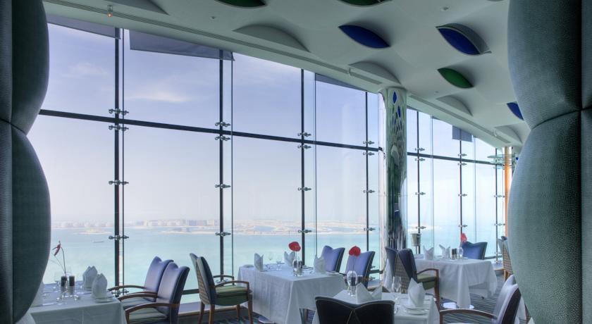 Burj Al Arab Hotel vistas restaurante de dia