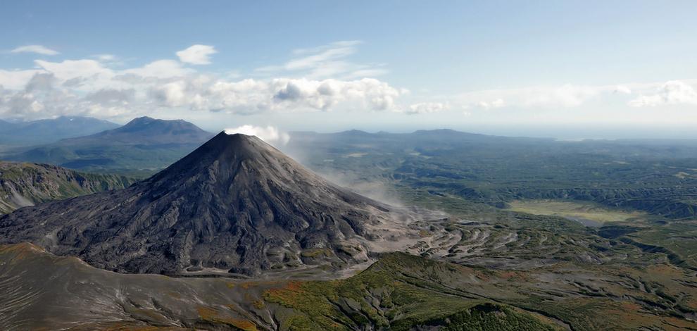 Volcanes de Kamchatka Rusia