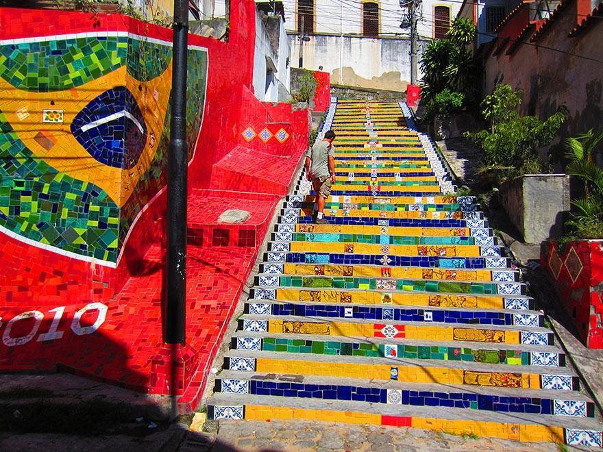 Escaleras Rio de Janeiro Brasil