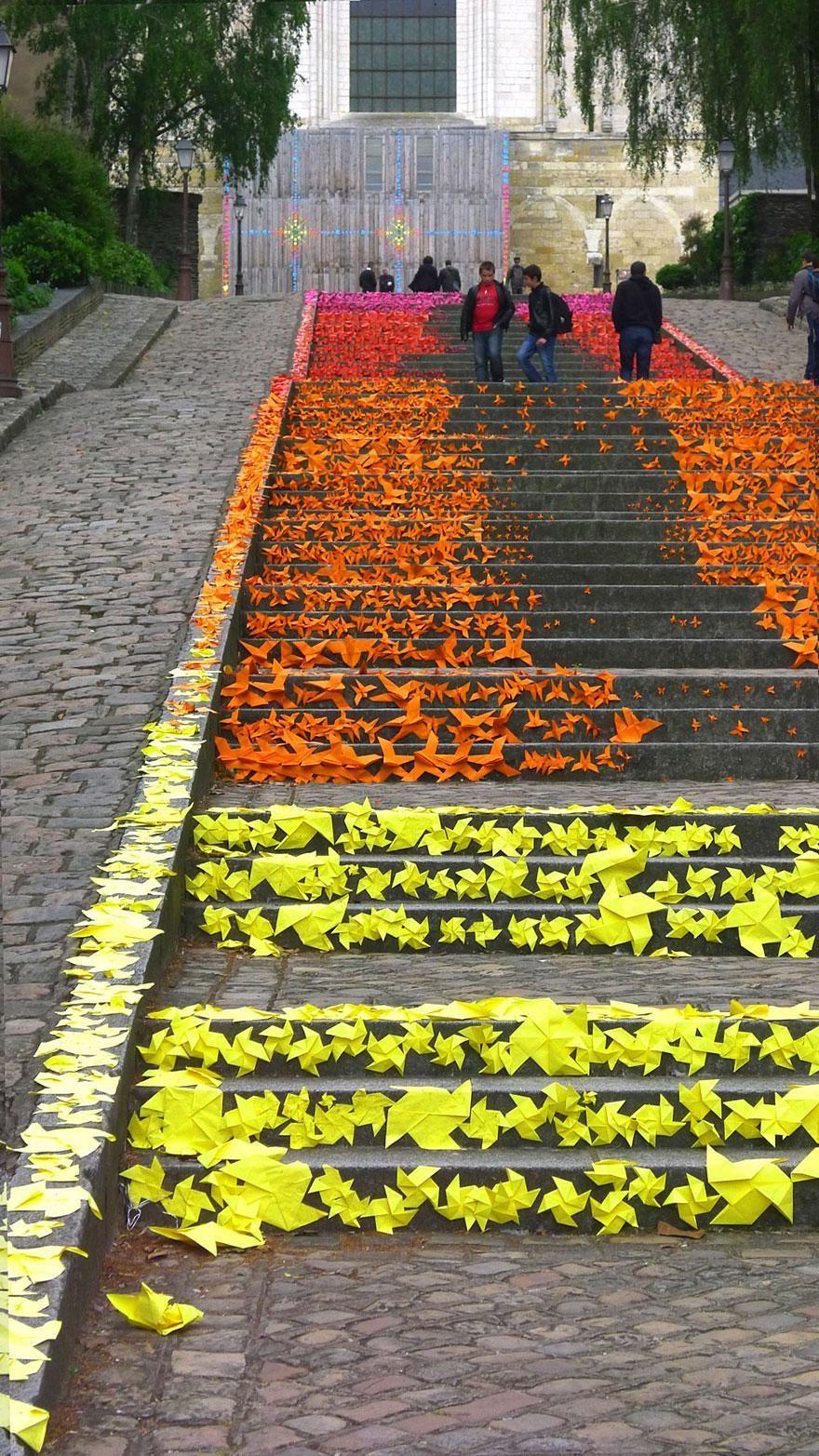 Escaleras en Angers Francia