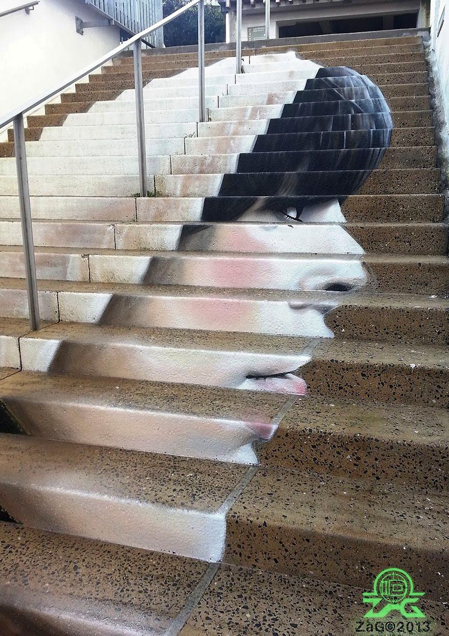 Escaleras en Morlaix Francia