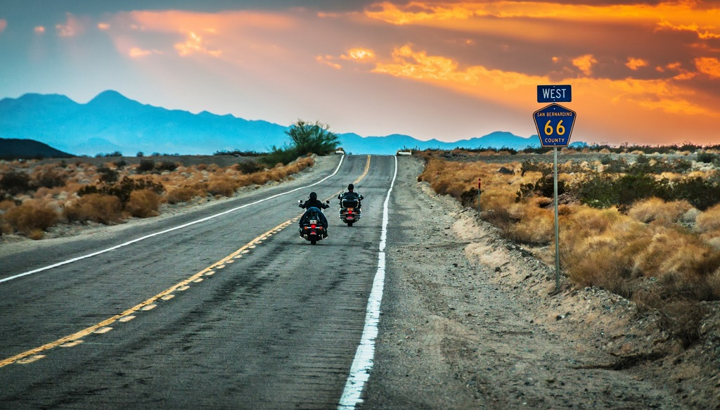 motociclista usa