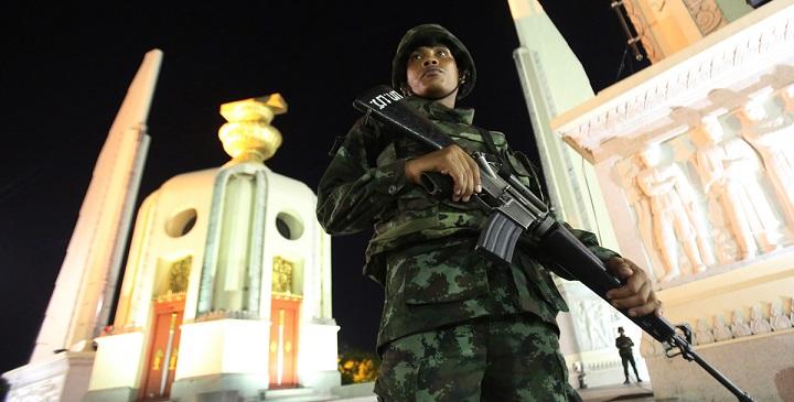 no viajar a Tailandia golpe de Estado1