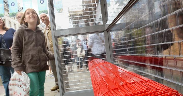 Parada bus LEGO Londres
