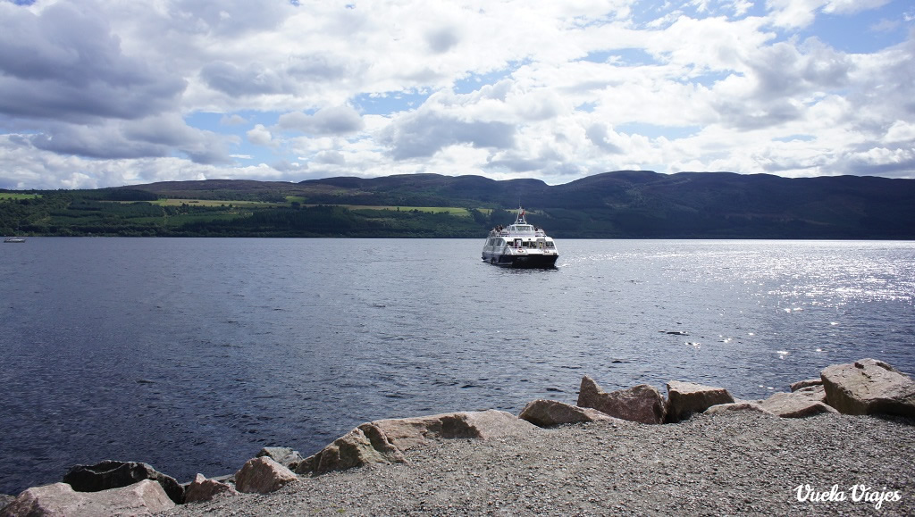 Jacobite Lago Ness embarcacion