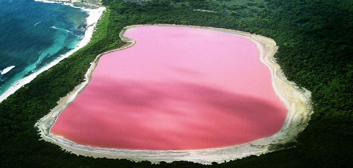 El lago más bonito de Australia