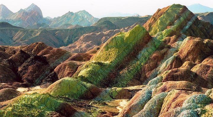 El paisaje de montaña más increíble y bonito de China