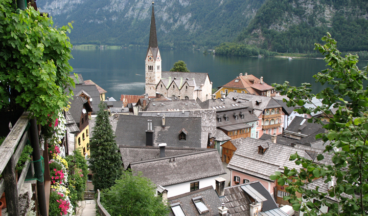El pueblo más bonito de Austria