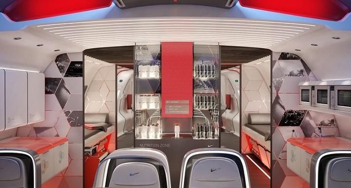 Avion para deportistas de Nike3