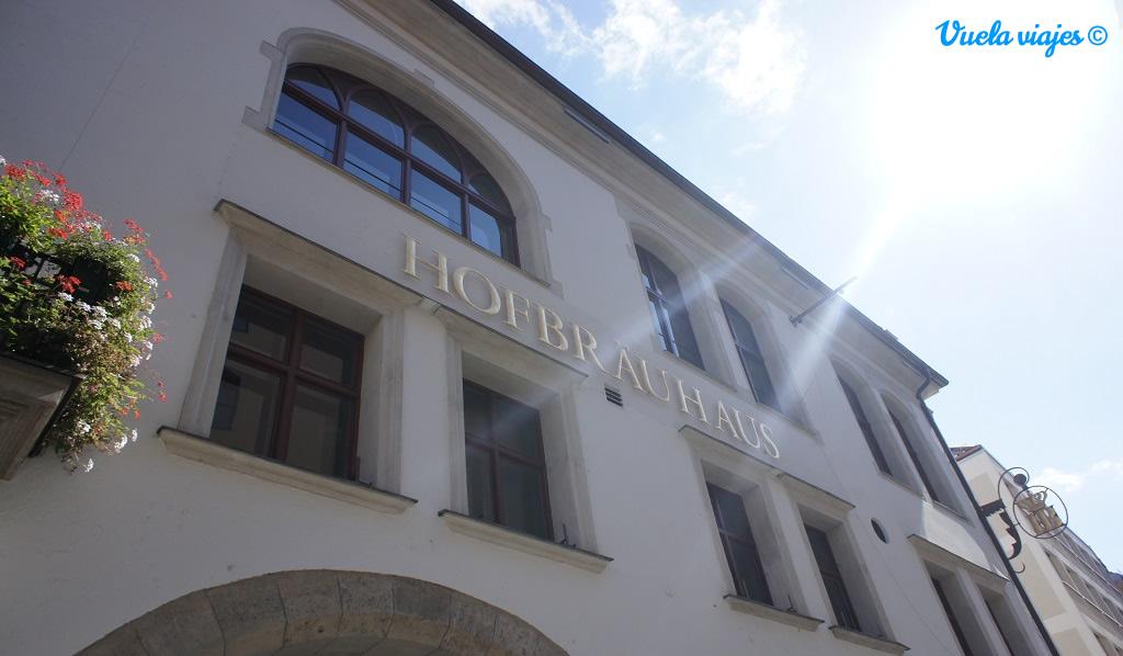 Hofbrauhaus fachada