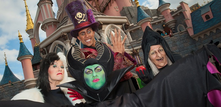Destinos Halloween Disneyland Paris