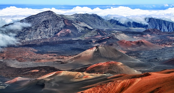 Parque Nacional de los volcanes Hawai