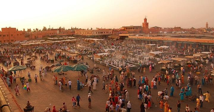 Zoco Marrakech Marruecos