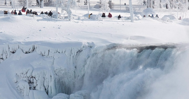 Heladas Cataratas Niagara
