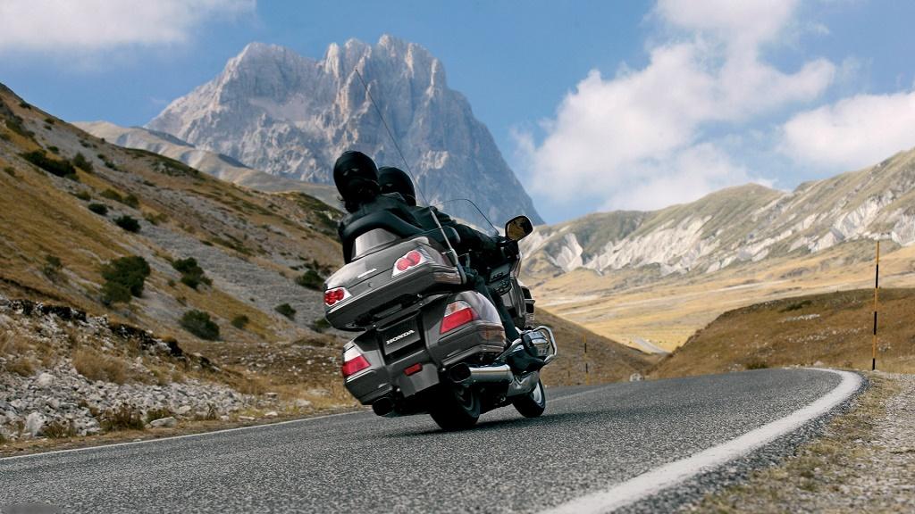 moto en ruta