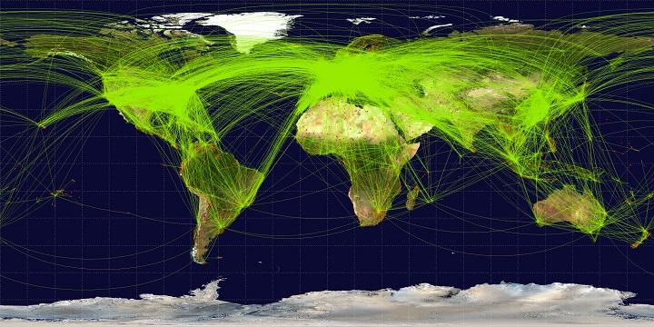 trafico aereo