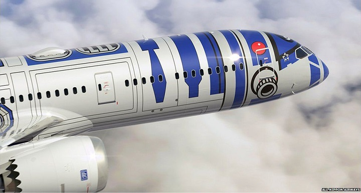 Avion Star Wars ANA