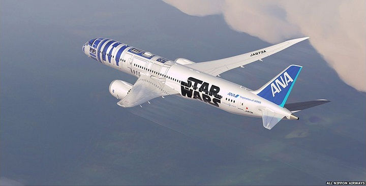 Avion Star Wars ANA1