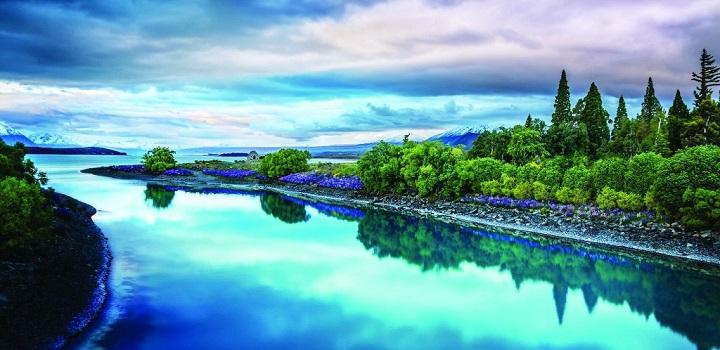 Lago Tekapo Nueva Zelanda1