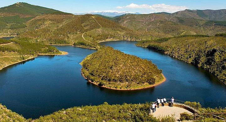 Meandro del Melero Extremadura