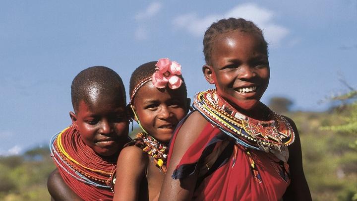 Fillettes Massaies