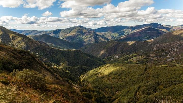 Serra do Caurel Galicia
