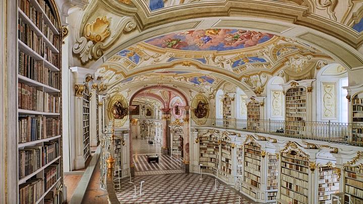 Biblioteca de la Abadia de Admont1