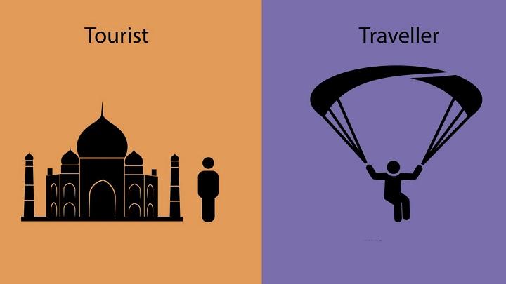 viajero turista foto3