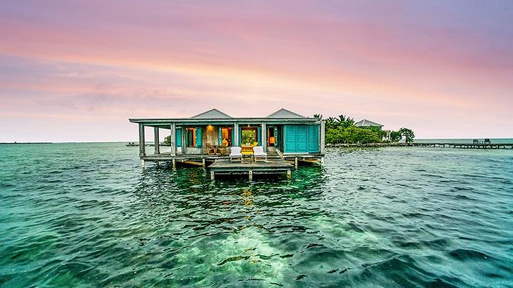 Espectaculares hoteles sobre el agua Los mejores hoteles sobre el mar
