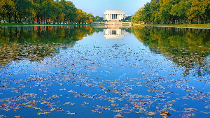 El Lincoln Memorial Reflecting Pool