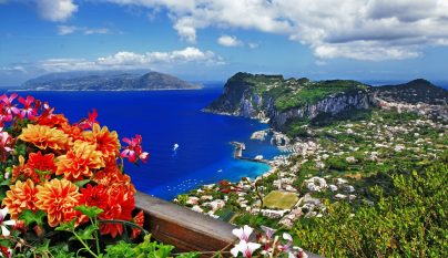 Isla de Capri destacada